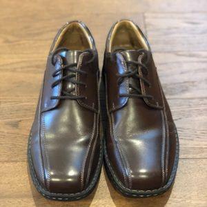 Dockers Trustee oxfords, brown, size 9